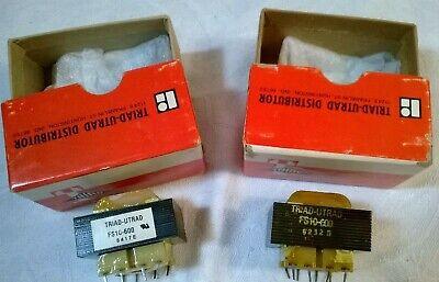 QTY 2 FP16-375 MAGNETEK TRIAD FLAT PACK POWER TRANSFORMER 115//230V NEW IN BOX