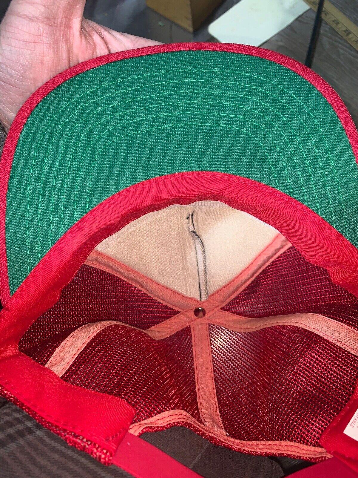 VINTAGE 80s Rare California Angels Red MLB Baseba… - image 11