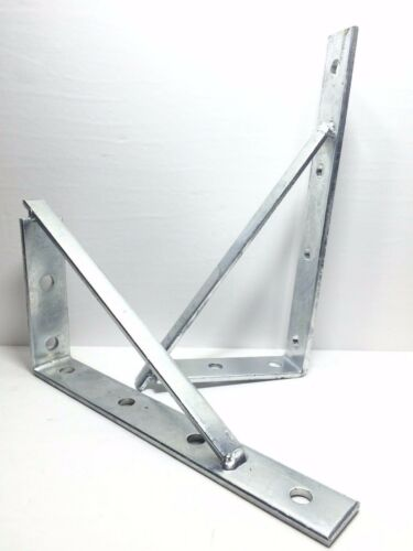 "478412G P1773 Unistrut BLine Shelf Bracket Brace 1212"" GALVANIZED Qty 5"