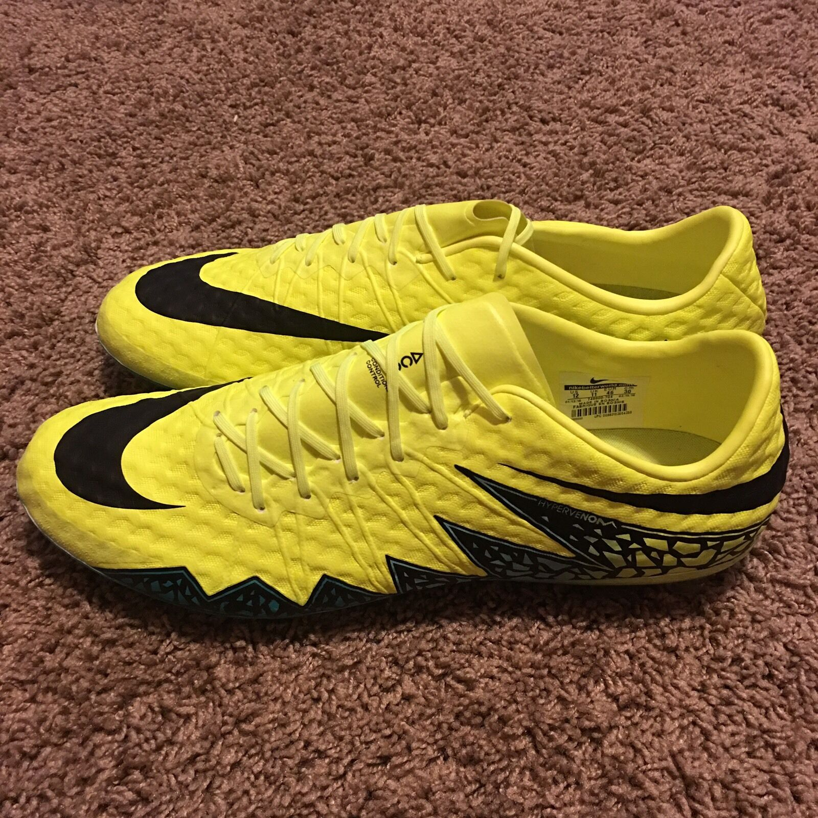 Nike Hypervenom Phinish AG-R 12 Cleat ACC Volt 749900 704 Magista Mercurial