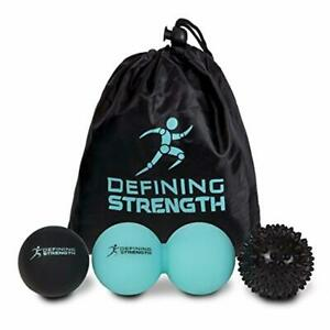 Top 3 Massage Boules Set, Pointu, Lacrosse Ball, Peanut Muscle Rouleau Masseur. Id-afficher Le Titre D'origine