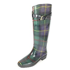 Size 6 B Rubber Tall Rain Boots