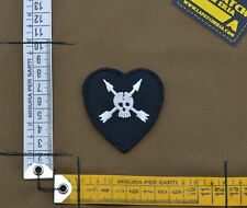 """Ricamata / Embroidered Patch US Army SF """"Skull & Arrows"""" with VELCRO® brand hook"""