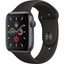 Apple Watch Series 5 GPS WIFI 32GB spacegrey 44mm mit Sport Band Smartwatch