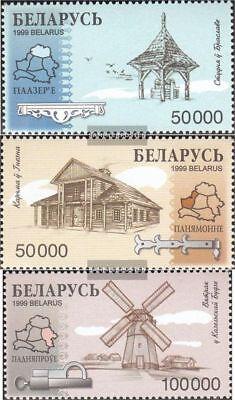 kompl.ausg. Postfrisch 1999 Holzbauwerke Der GüNstigste Preis Weißrussland 318-320