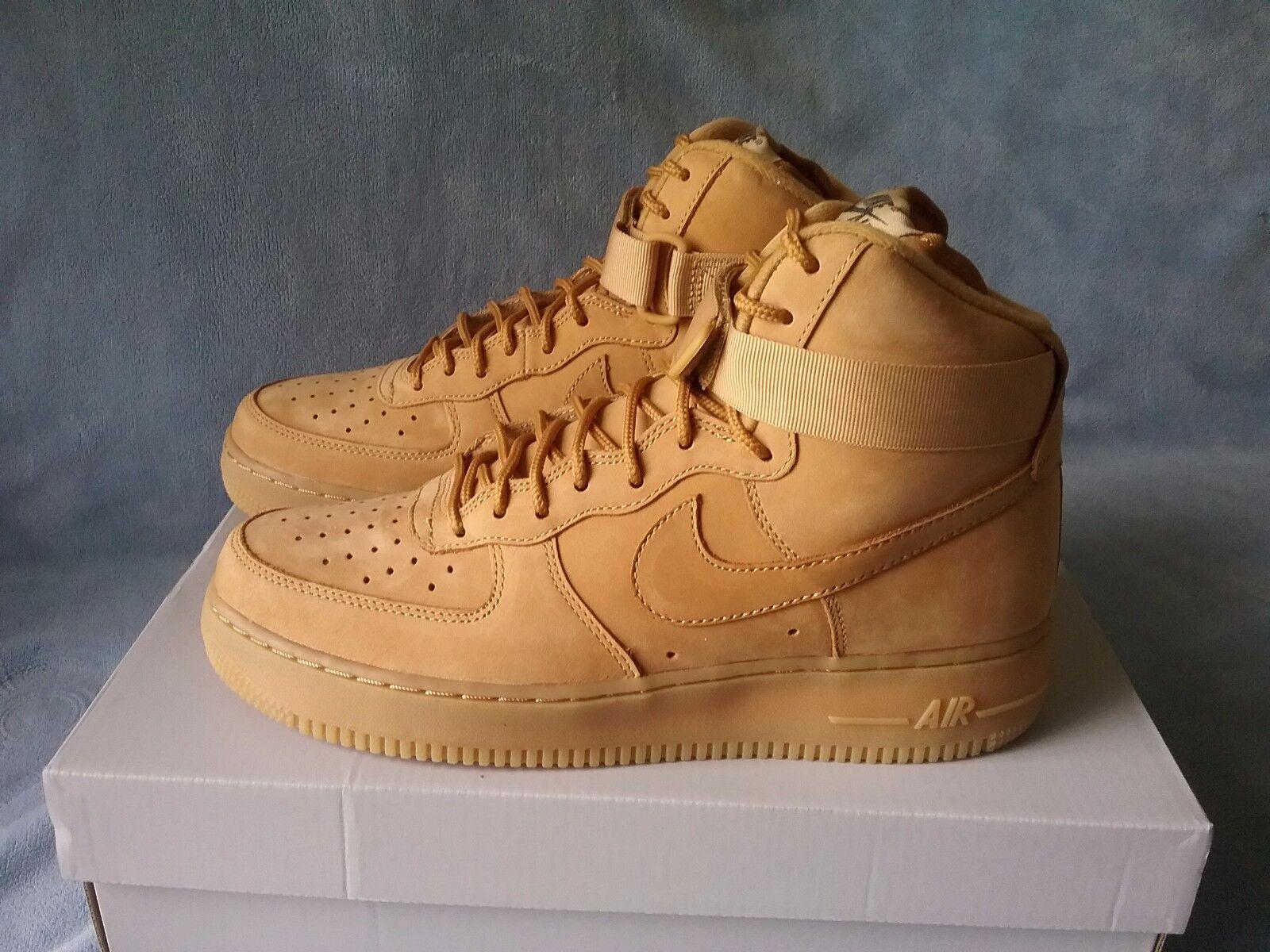 pretty nice 16d3c 562d5 good Nike Air Force 1 High 07 LV8 Wheat Flax 806403-200