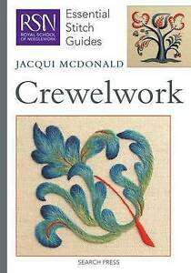 RSN-Essential-Stitch-Guides-Crewelwork-by-McDonald-Jacqui-Spiral-bound-book
