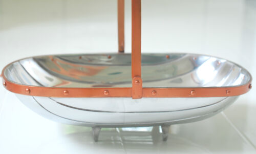 Qualità giardinieri Sussex TRUG Insalatiera elemento di qualità in metallo Ciotola Frutta