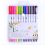 60-Colors-Dual-Tips-Brush-Drawing-Pens-Fine-Tip-Paint-Watercolor-Art-Markers-Set miniature 13