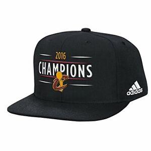 Details about Adidas NBA Men s Cleveland Cavaliers TRB Champs Flat Brim Hat 54f15e41602