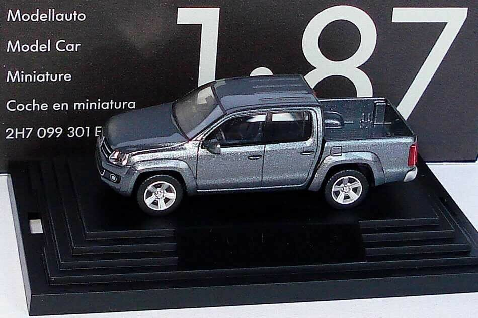 VERY RARE VW AMAROK TSI TDI 2K 4X4 NATURAL GREY GREY GREY 1 87 WIKING (OEM DEALER MODEL) 95b2a8