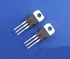 100 PCS IC L7808CV L7808 7808 TO-220 ST Voltage Regulator 8V ST NEW