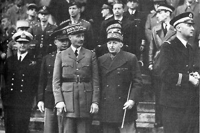 Cunningham et Giraud à Alger 02.12.1942 Gal Eisenhower Amiral Darlan WW2
