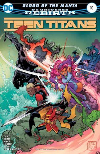 TEEN TITANS #10 REBIRTH DC COMICS