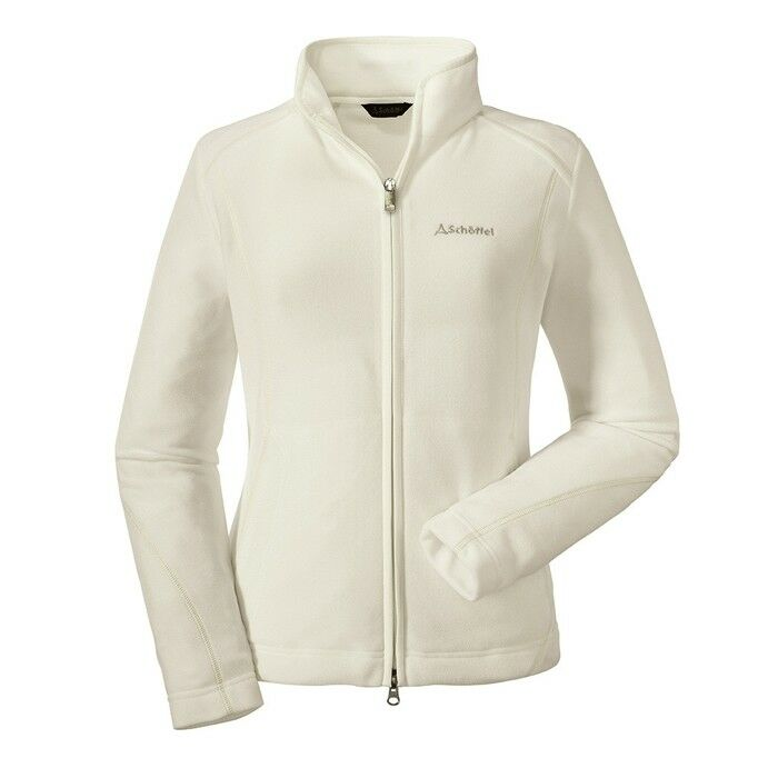 Schöffek Fleece Jacket Leona1 whisper Weiß