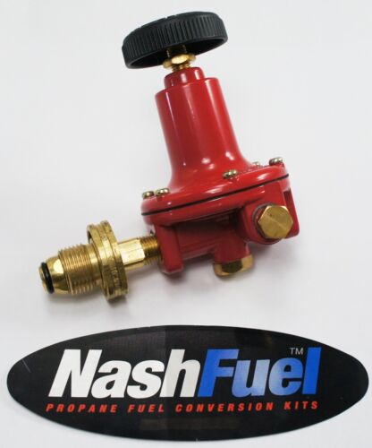 MARSHALL 1-30 PSI PROPANE REGULATOR ADJUSTABLE HIGH PRESSURE LPG POL NATURAL GAS