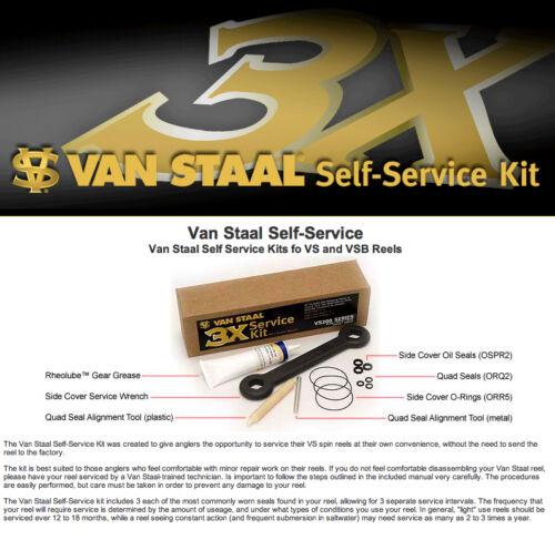 Van Staal Self Service Kits for VS /& VSB 100-150 Reels