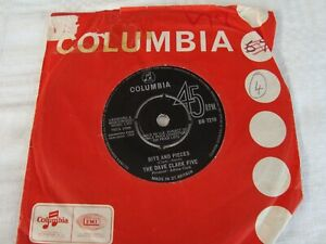 """Dave Clark Five - Bits and Pieces / All of the time -VINYL 7"""" - Columbia DB7210"""