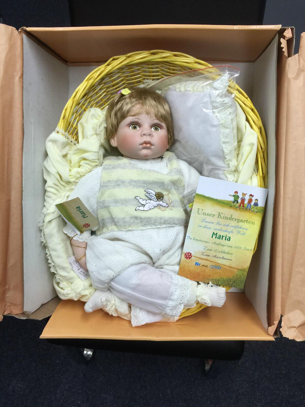 Able KÜnstlerpuppen Porzellan Puppen 10 Stk Limitierte Auflage Top Zustand !!