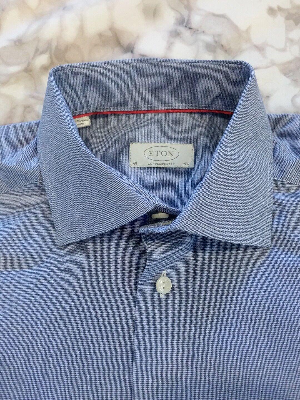 Eton Contemporary fit dress  shirt 40