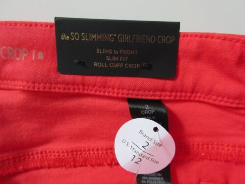2 ½ Slimming In Chico's X Stretch Crop Girlfriend rossi Jeans Nwt 25 12 The So nwgqxn6H