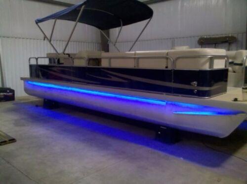 - LED Boat Light Kit BLUE - 12v DC battery power - UNIVERSAL fit any boat