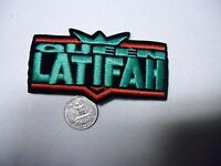 Queen Latifah Rap Hip Hop Sew/iron On Embroidered Patch