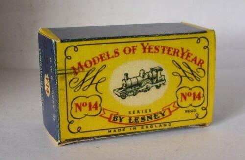 REPRO BOX MATCHBOX Moy n 14 Connaught loco