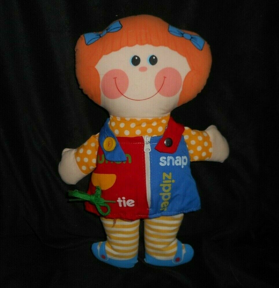 14  VINTAGE 1983 PLAYSKOOL DRESSY BESSY GIRL DOLL TIE STUFFED ANIMAL PLUSH TOY