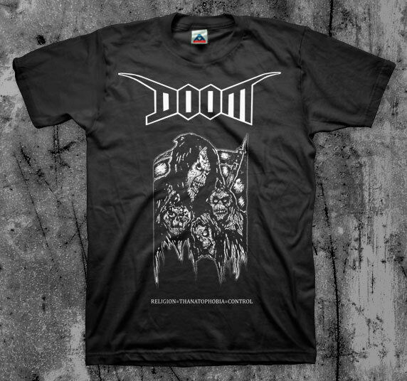 DOOM  'Thanatophobia' T shirt (ENT Discharge Disrupt Crust)