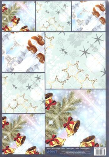 stanzbogen de Reddy Creative cards Mini-sobres-X-mas 100673