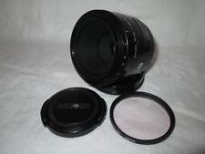 Minolta AF Macro 50mm 2.8 (32) lente principal + Tapas Sony Alpha un