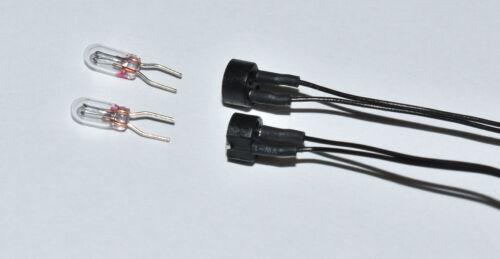 2 St Stecksockel 604180 avec câble de connexion /& 2 St Ampoule 610080 digitalset