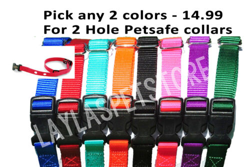 "2-3//4/"" Nylon Dog Fence Collar Receiver  Strap PUL-250 PUL-275 PRF-275"