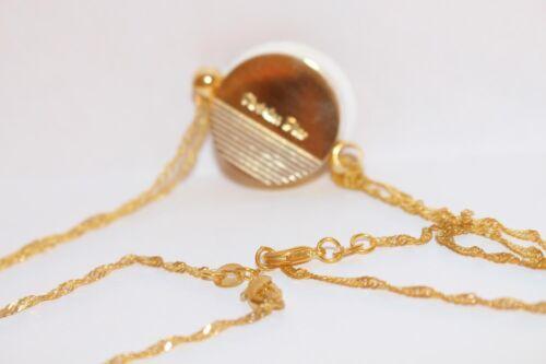 vintage dior gold necklace