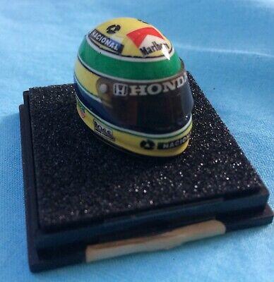 Franco Marlboro Mclaren Honda 1993 Ayrton Senna Helmet Casque 1.12 Jf CrÉations Lasciamo Che Le Nostre Merci Vadano Al Mondo