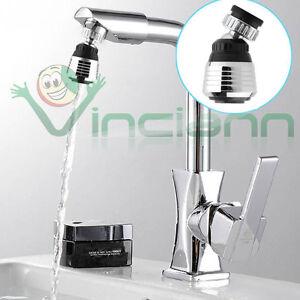Filtro rotante 360 rubinetto cucina bagno acqua ugello - Aeratore per bagno ...