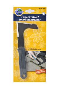 Filmer Fugenkratzer / Unkrautentferner, grün im Blister für Garten / Steinfugen