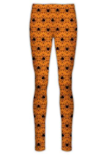 Womens New Halloween Jeggings Pumpkin strechy Spooky Skull Fitted Leggings