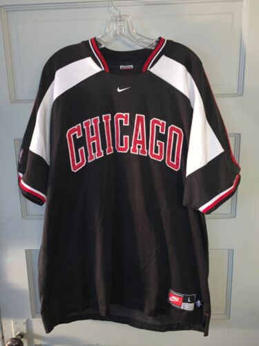 Vintage Nike Chicago Bulls Warmup Jersey Sz.L