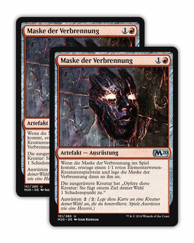 Magic the Gathering M20 Hauptset 2x Uncommon Karten Playsets NM Auswahl deutsch