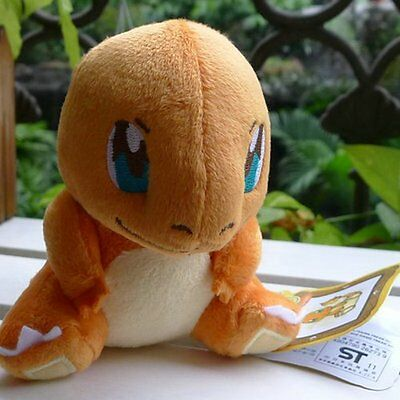 """New POKEMON COOL~ GRASS~ Charmander 4"""" Plush Doll Toy Figure Collectible"""