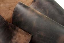 Tolles Lederstück, braun, Blankleder, Rindleder für Taschen, Holster 18x26