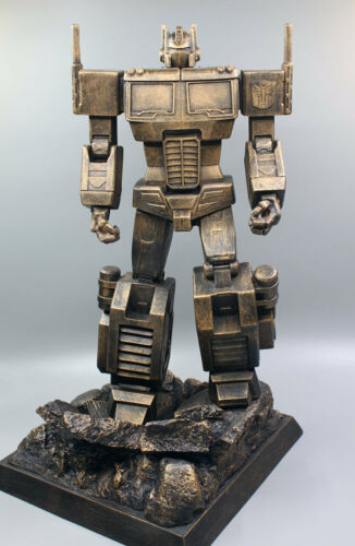 "Transformers Autobots Optimus Prime Resin Statue Model Figure 3Color Options 14"""