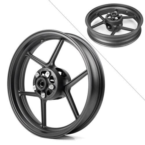 Front Wheel Rim for Kawasaki Ninja ZX10R 2004-2005 /&ER-6N 2006-2018 Matte Black