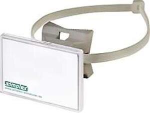 Simplex quick schilderhalter mit spannband schnelle for Fenster 70x50