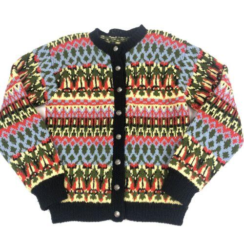Vintage Austrian Cardigan Sweater Original Lanz Au