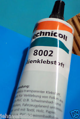 38 gr. Tube  Weich - Plastik Kleber 16,58 €/100 gr  Weich -  PVC -  Kleber