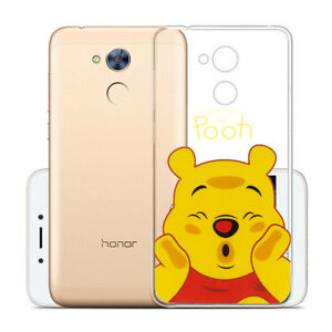 Funda-protectora-de-movil-para-Huawei-Honor-6a-Silicona-CARTOON-Disney-WINNIE