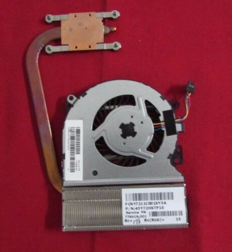 HP PAVILLION x360 13-A010NR CPU COOLING FAN /& HEATSINK 779598-001 779419-001